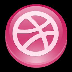 Social Media, Dribbble Icon image #40185