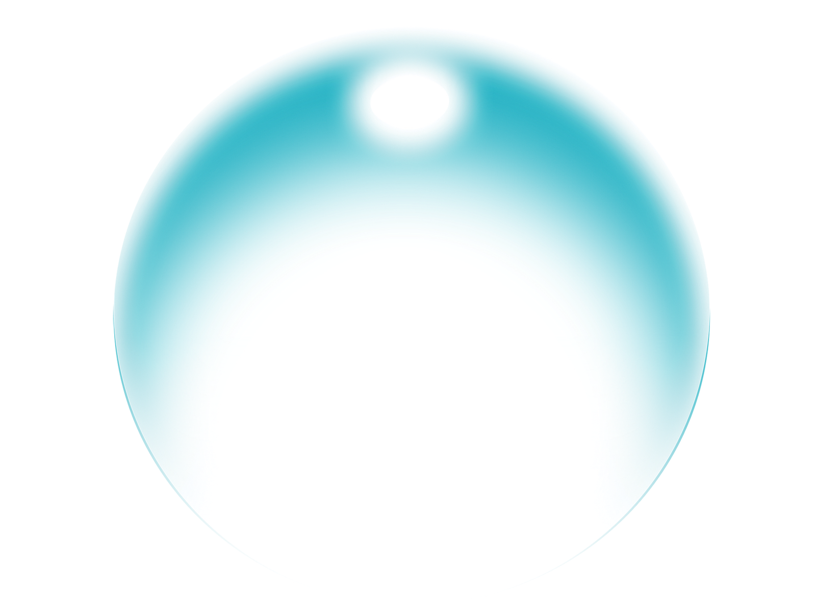 Soft Blue Bubble Png image #44340
