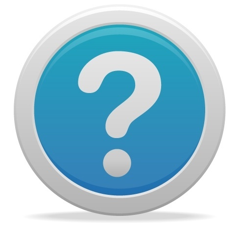 soft question mark icon image