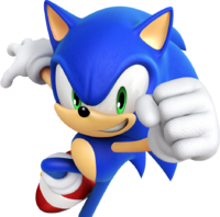 Sonic Hd Background Png Transparent image #20651