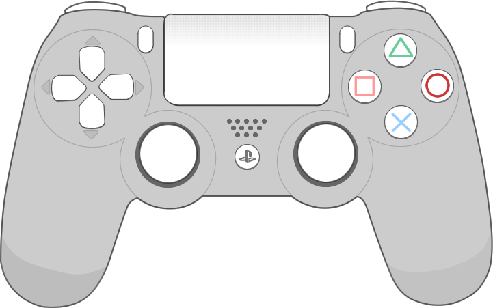 Sony Playstation4 controller png