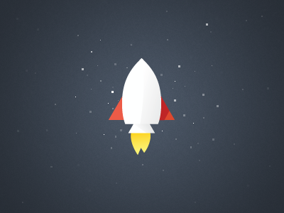 Vector Spaceship Icon