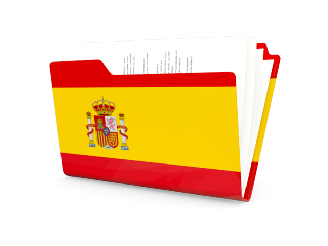 Free Spain Flag Vector 640x480, Spain Flag HD PNG Download