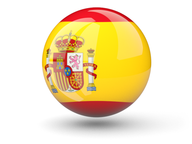 Transparent Spain Flag Icon