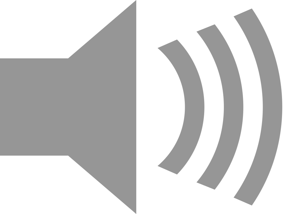 Speaker Icon  Library image #29721