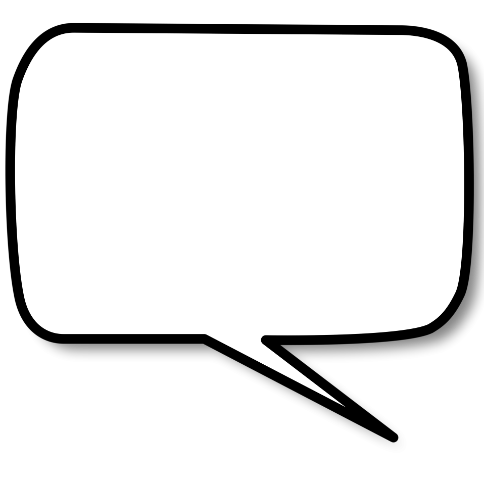 Speech Bubble Png image #15291