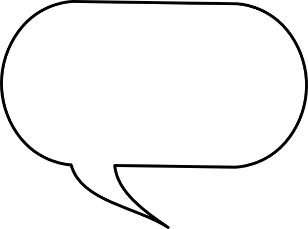 Speech Bubble Png image #15292