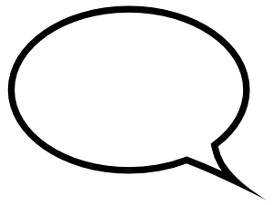 Speech Bubble Png image #15297
