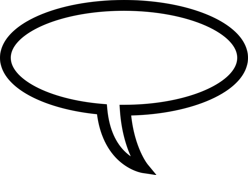 Speech Bubble Png image #15299