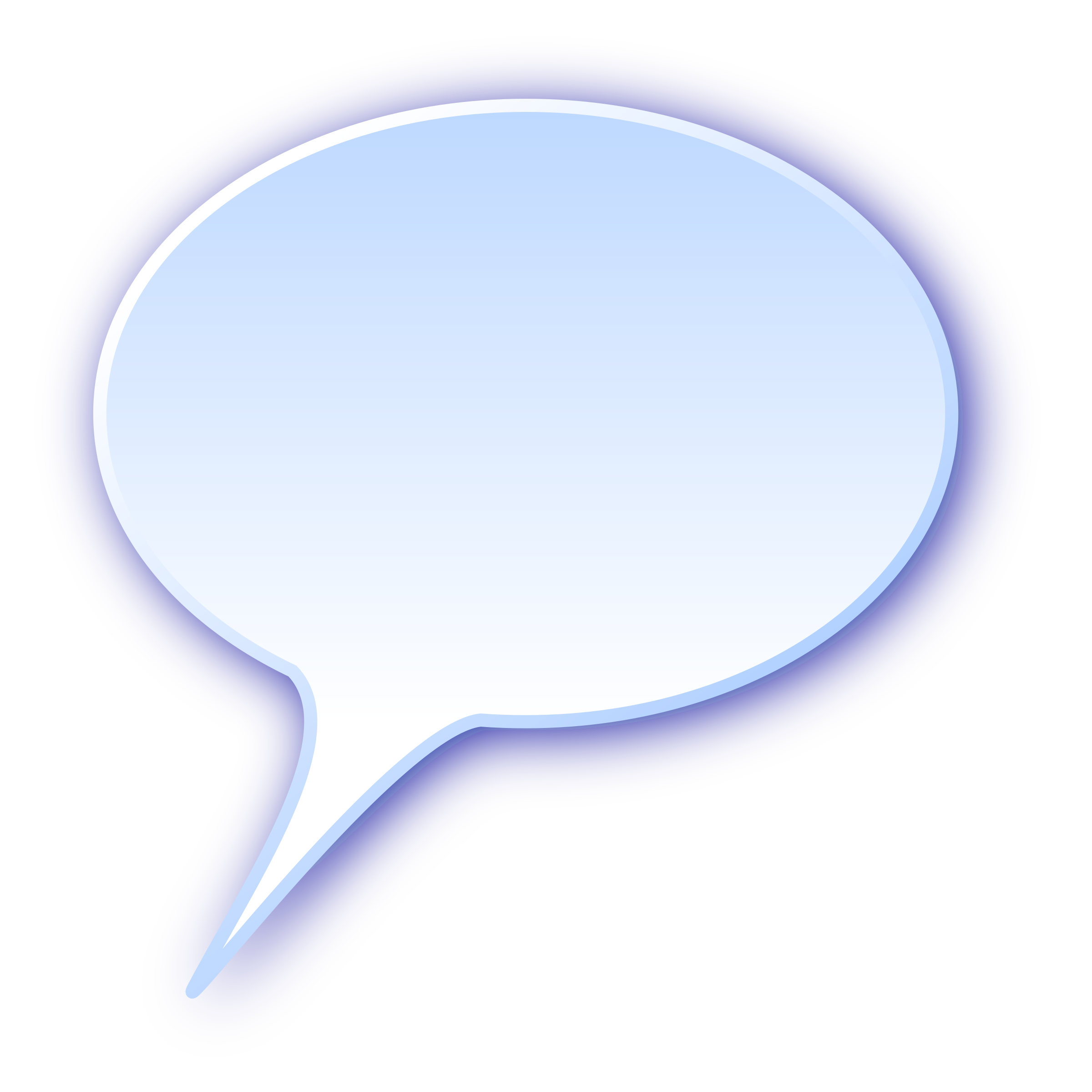 Speech Bubble Png image #15300