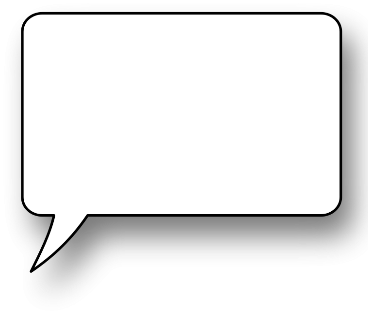 Speech Bubble Png image #15301