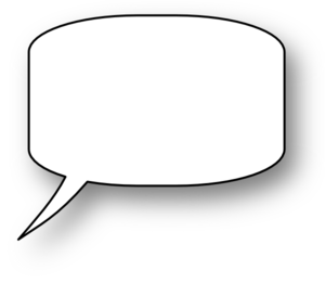 Speech Bubble Png image #15303