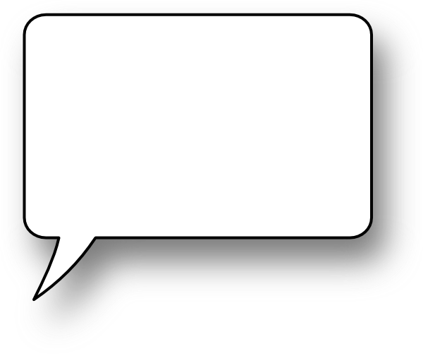 Speech Bubble Png image #15305
