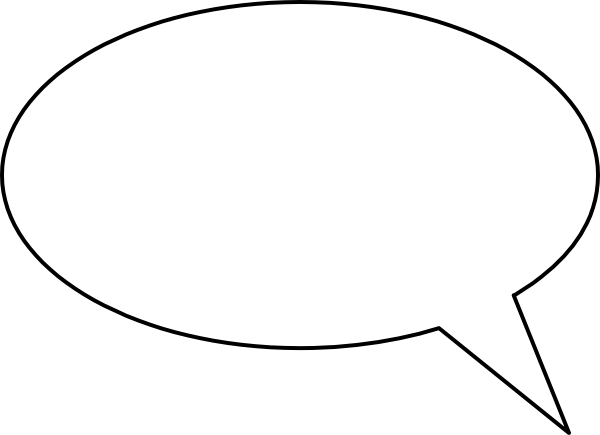 Speech Bubble Png image #15306