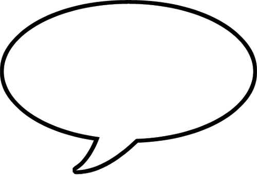 Speech Bubble Png image #15307