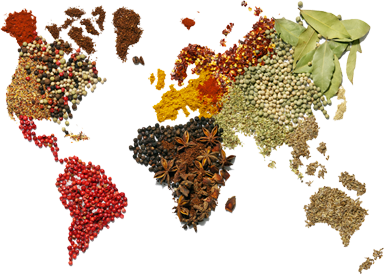 spice map transparent png picture