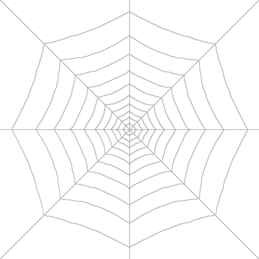 HD Spider Web PNG image #34735