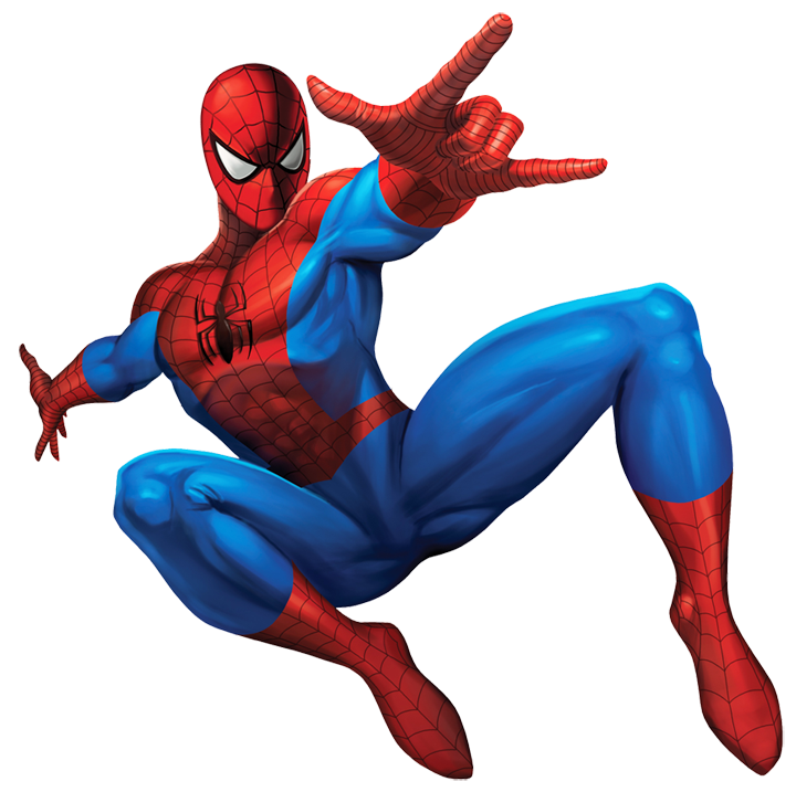 Spiderman super hero png
