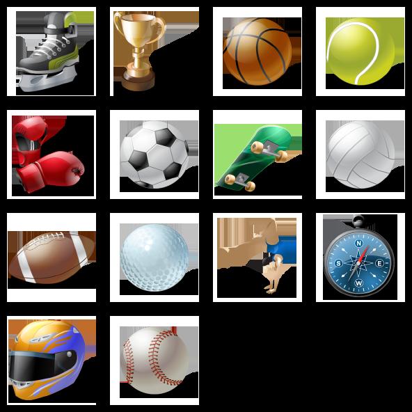 Sport full icon