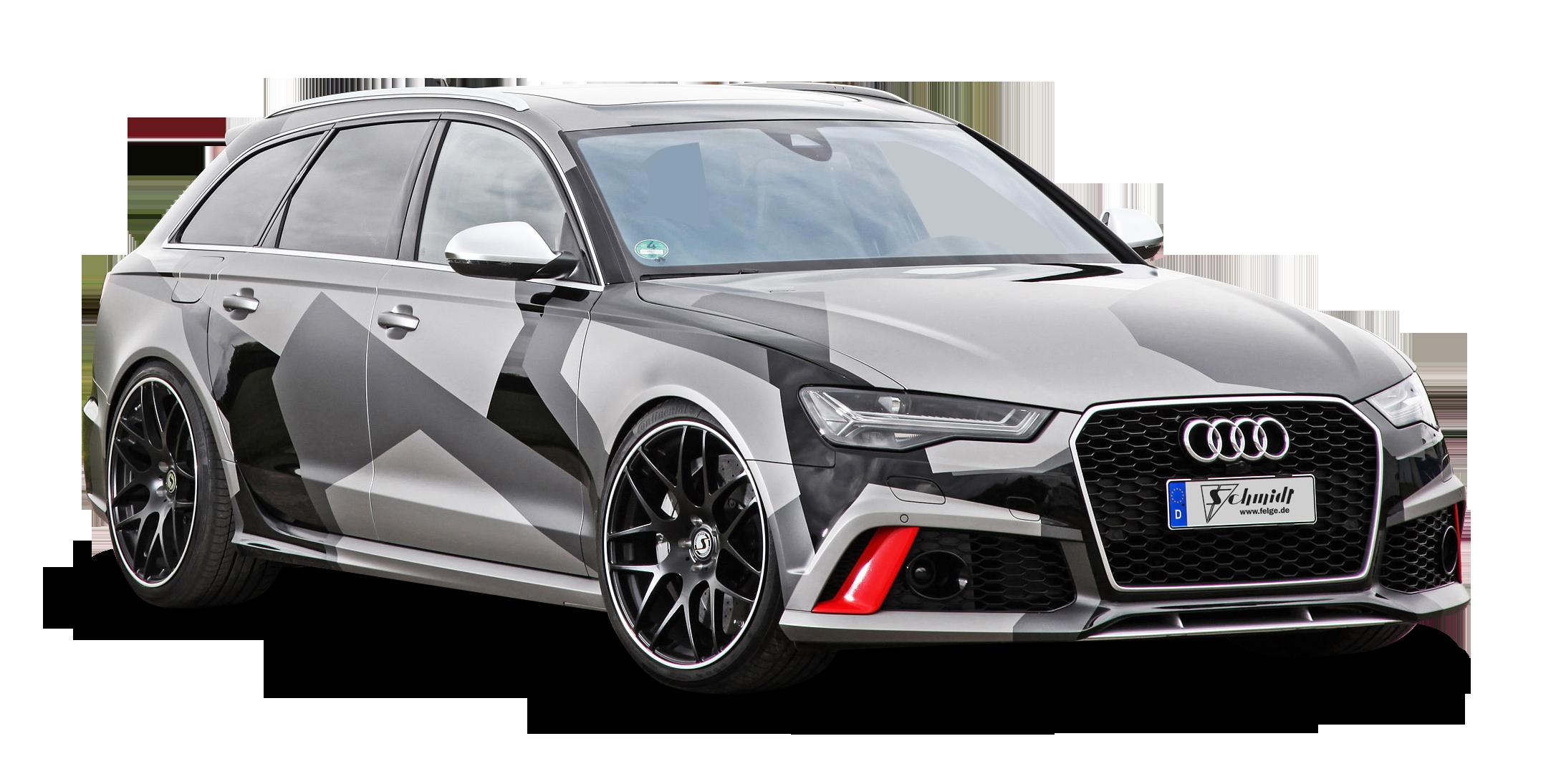 Sport Grey Audi RS6 Avant Car PNG Image