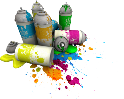 Spray Can Png image #28862
