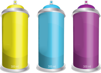 Transparent Spray Can PNG image #28850