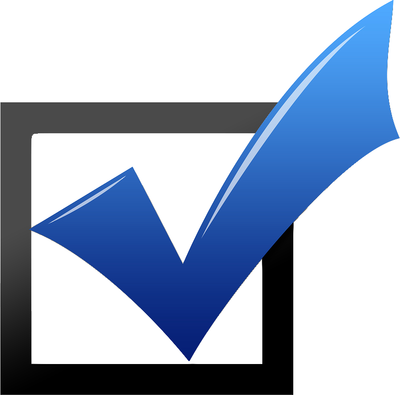 Square Checkmark Png image #25978