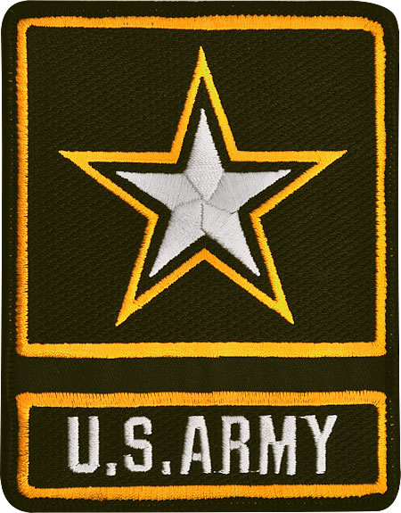 Star Army Icon Vector image #9363