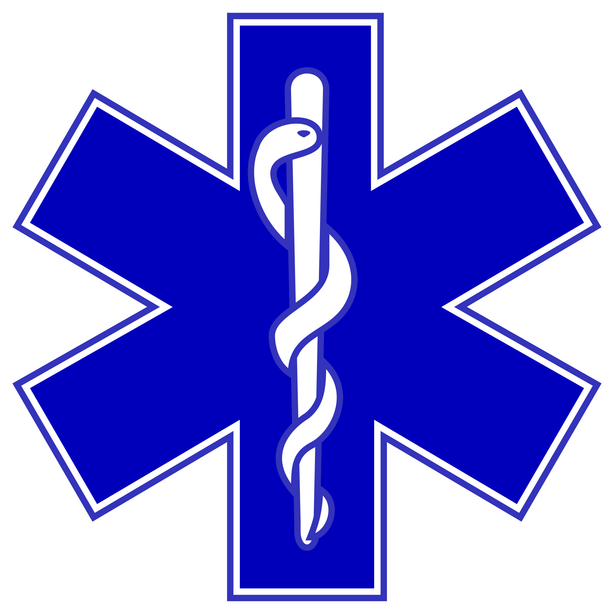 HD Star Of Life PNG