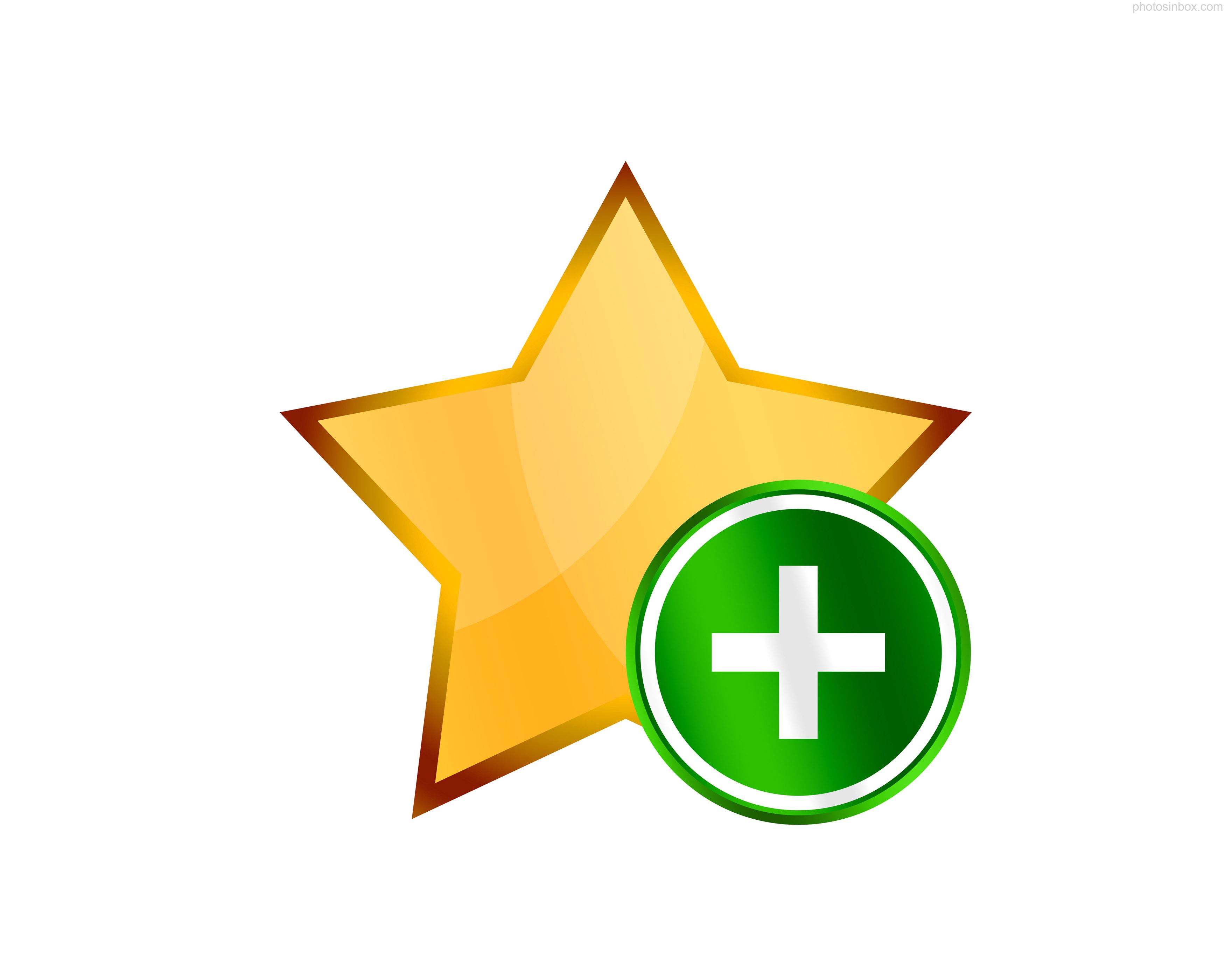 star, plus, add, favorite icon