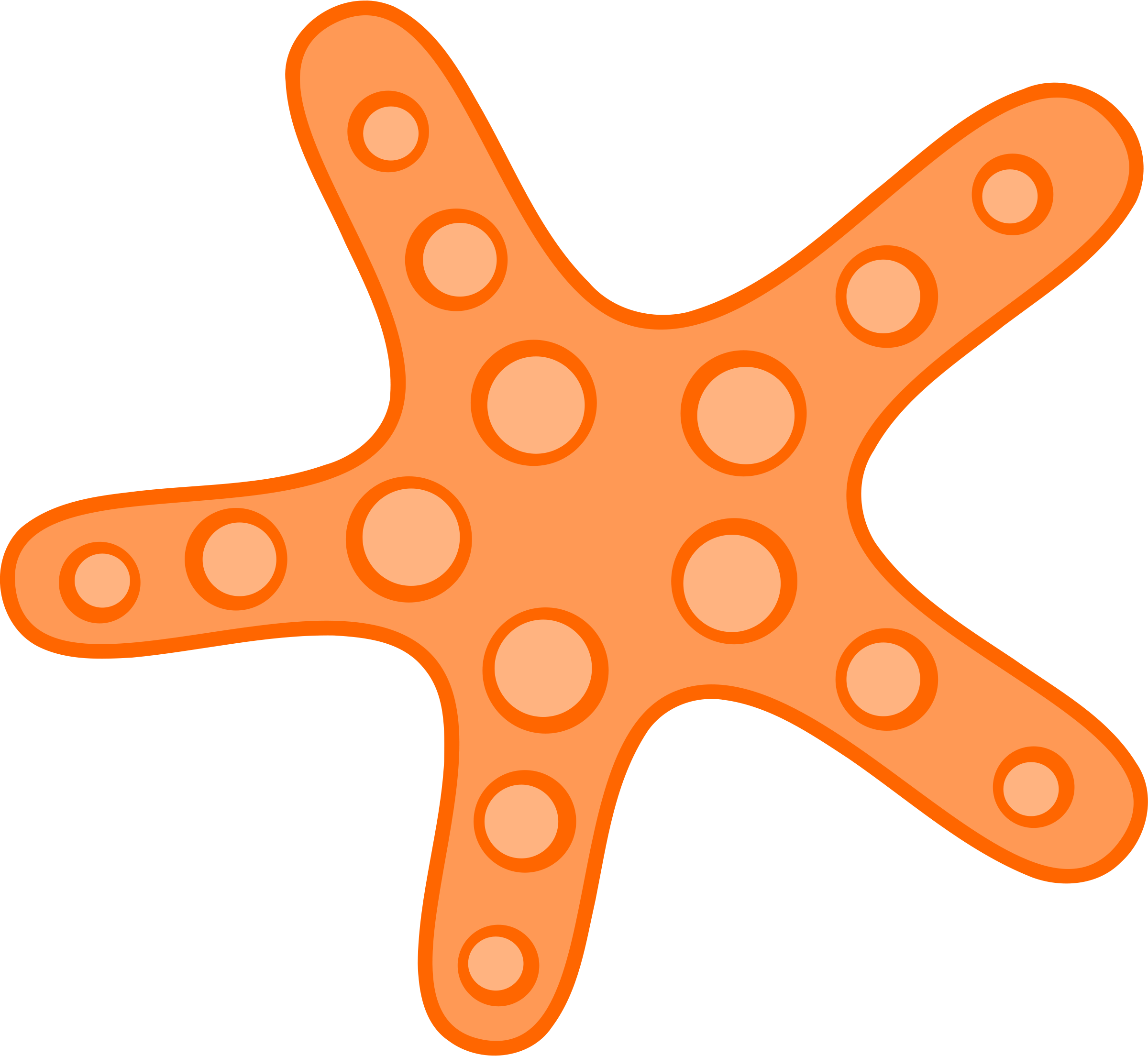 Free Download Starfish Png Images image #19852