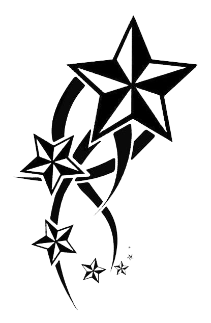 Stars Tribal Tattoos Png image #19381