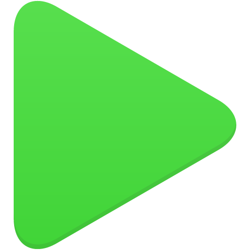 Start Green Play Icon image #44878
