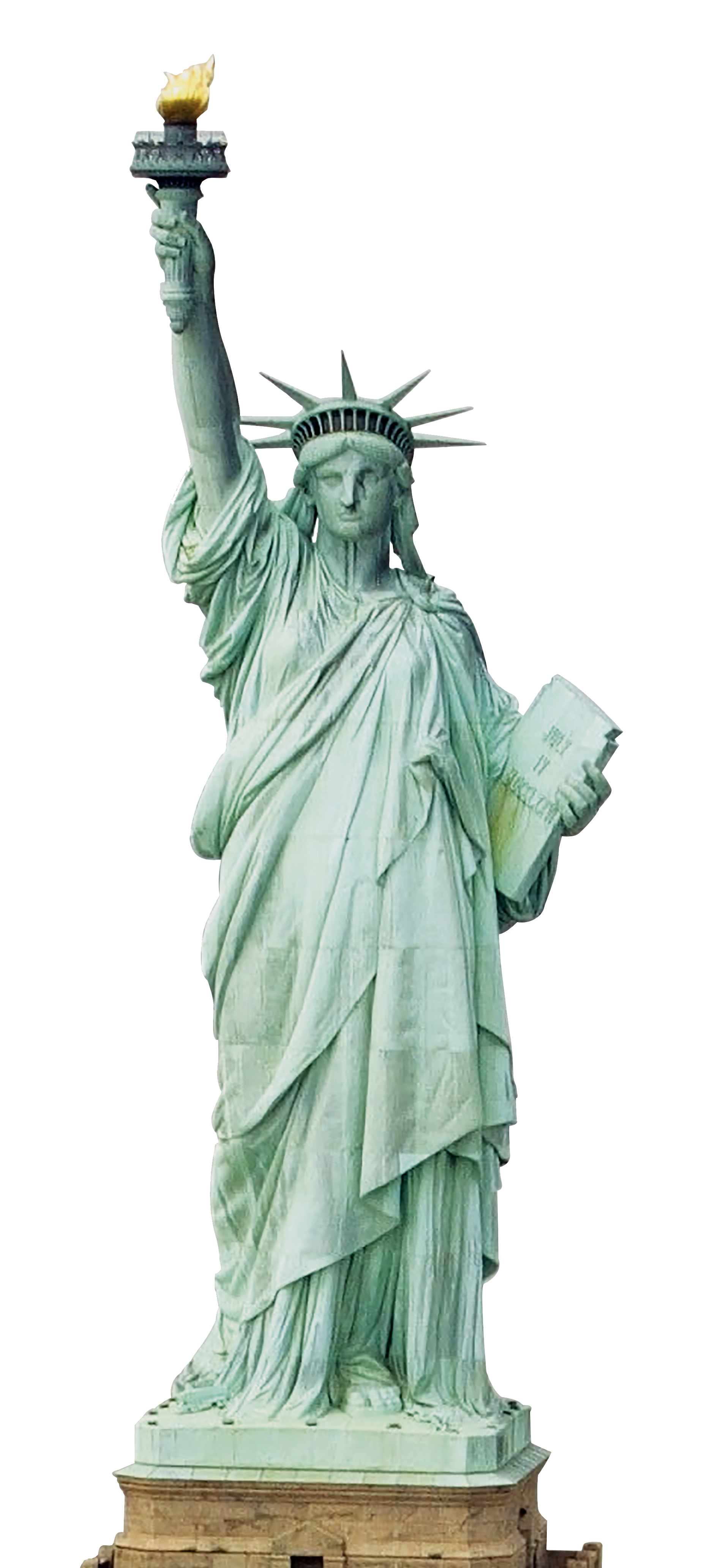 Statue of Freedom Cardboard Cut Outs PNG