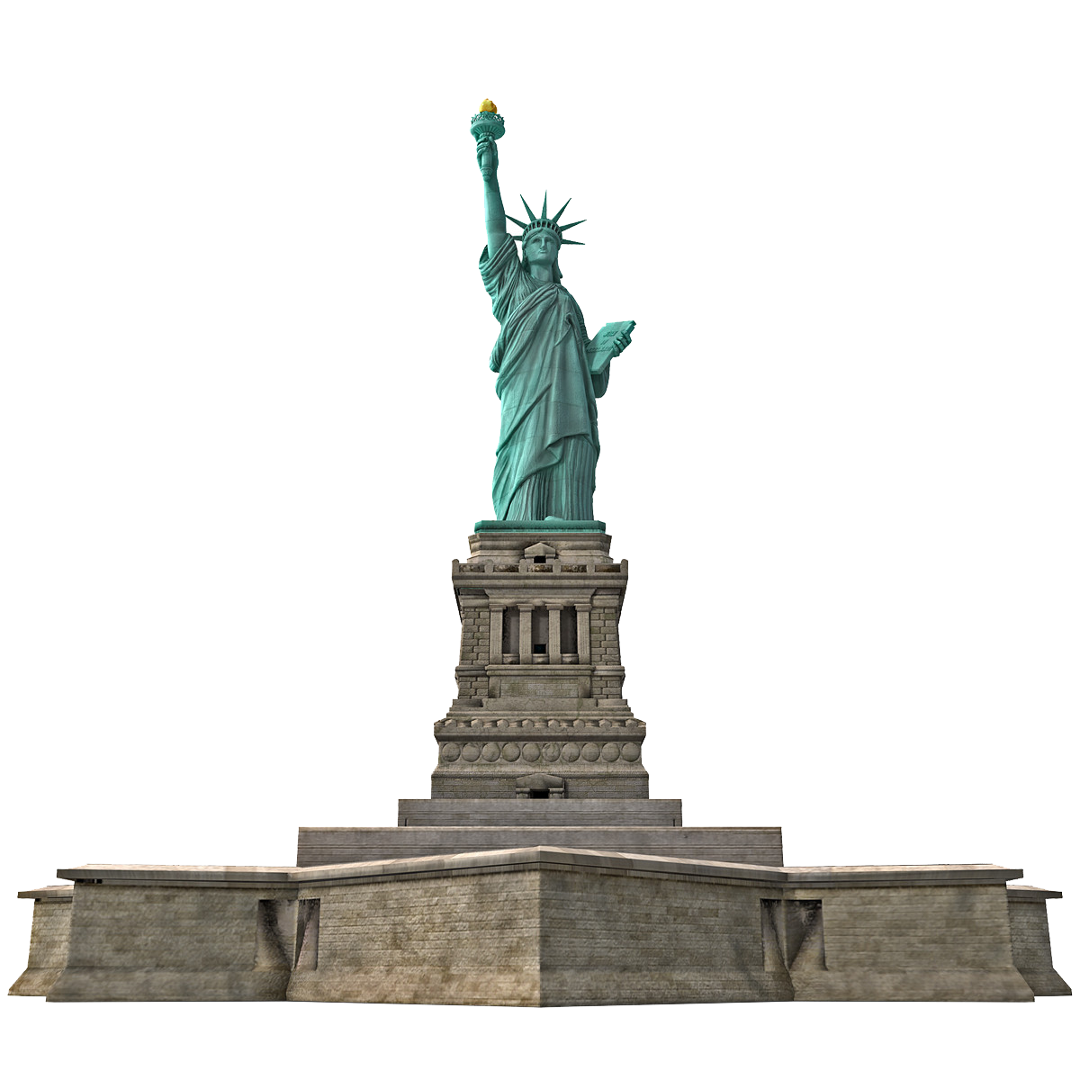Statue Of Liberty Transparent Background