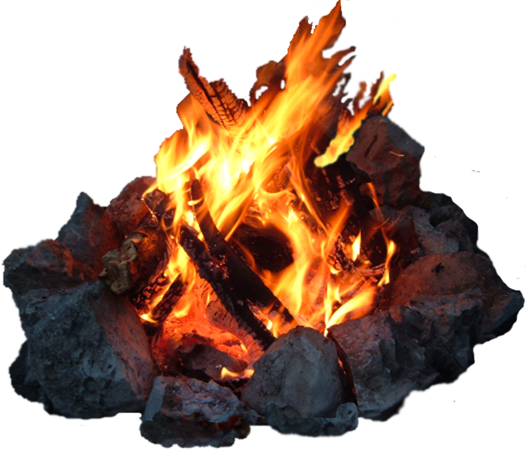 Stone, Bonfire, Flame PNG image #47540