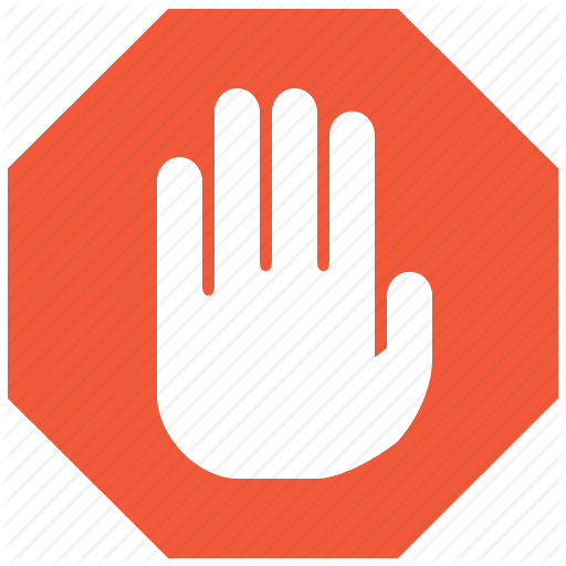 Stop Hands Icon image #13396