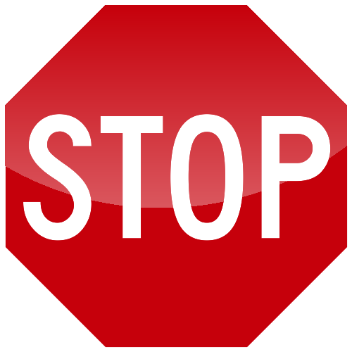 Stop Label Text Icon image #13399