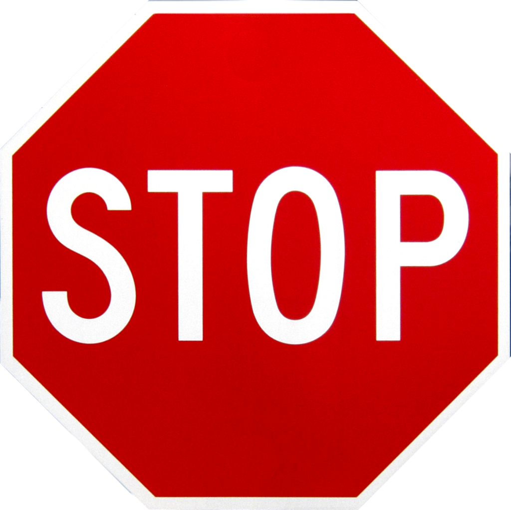 STOP Sign Icon image #13395