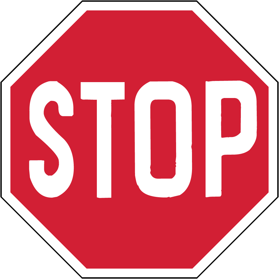 Stop Sign Png image #27206