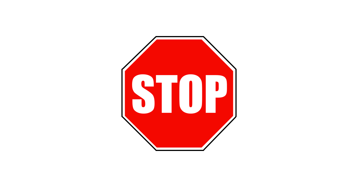 Free Download Of Stop Sign Icon Clipart