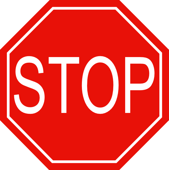 Stop Sign Png image #27222