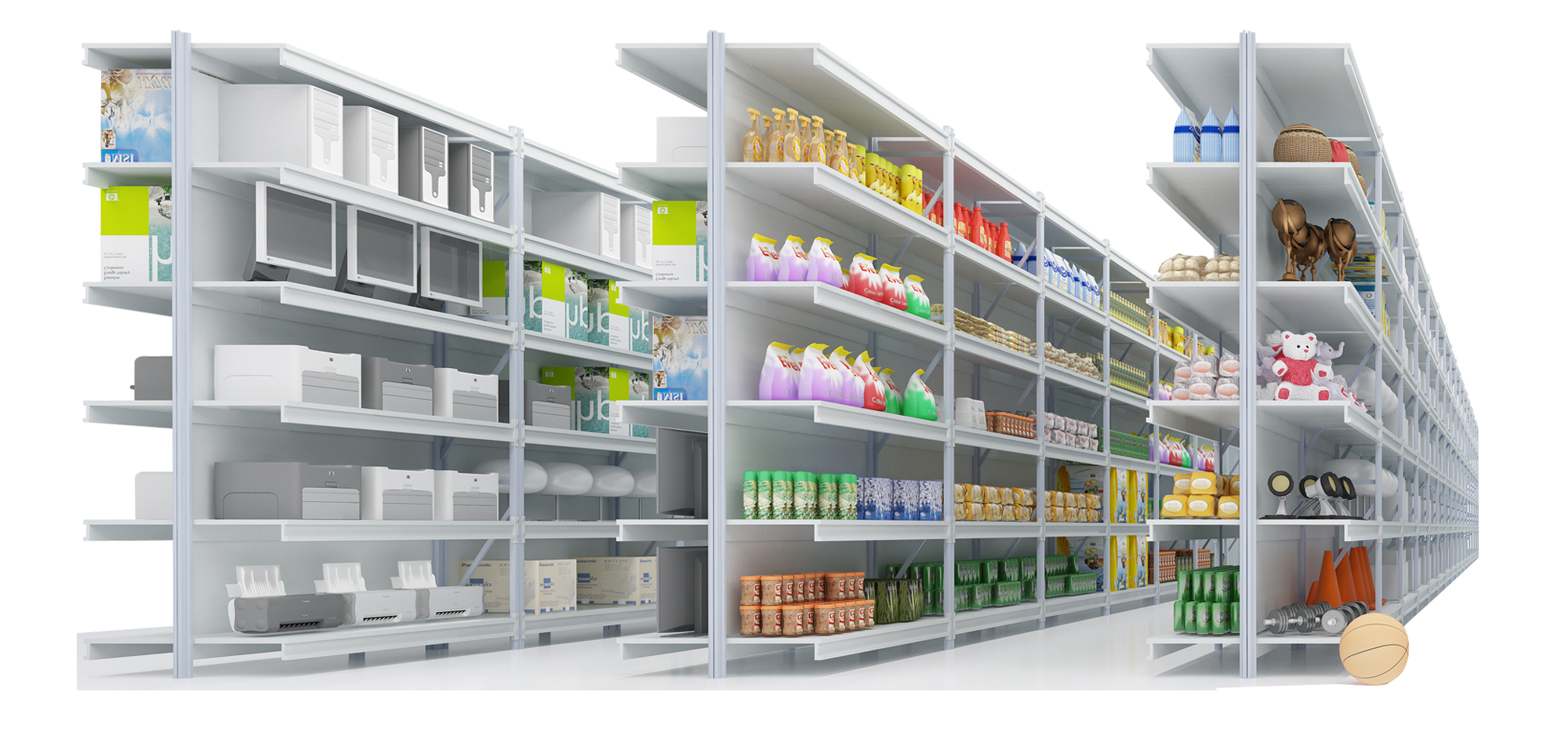 Store Shelf Png image #37487