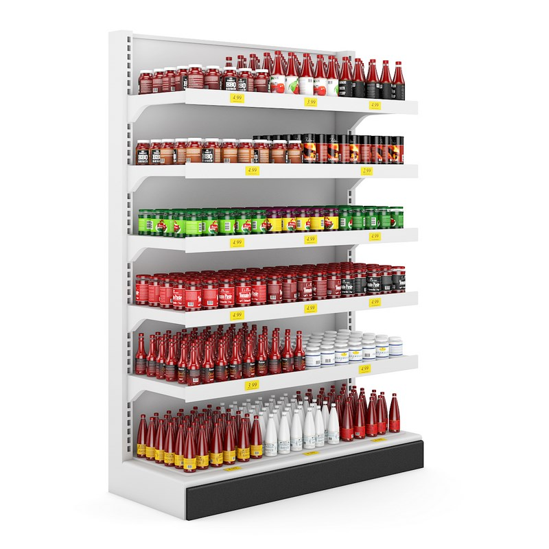 Store Shelf Png image #37491