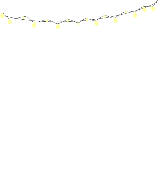 String Lights Clipart Png HD image #43386