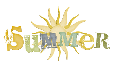 Summer With Sun Logo Png image #41161