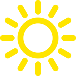 Icon Sun Size Png Transparent Background Free Download 8573 Freeiconspng
