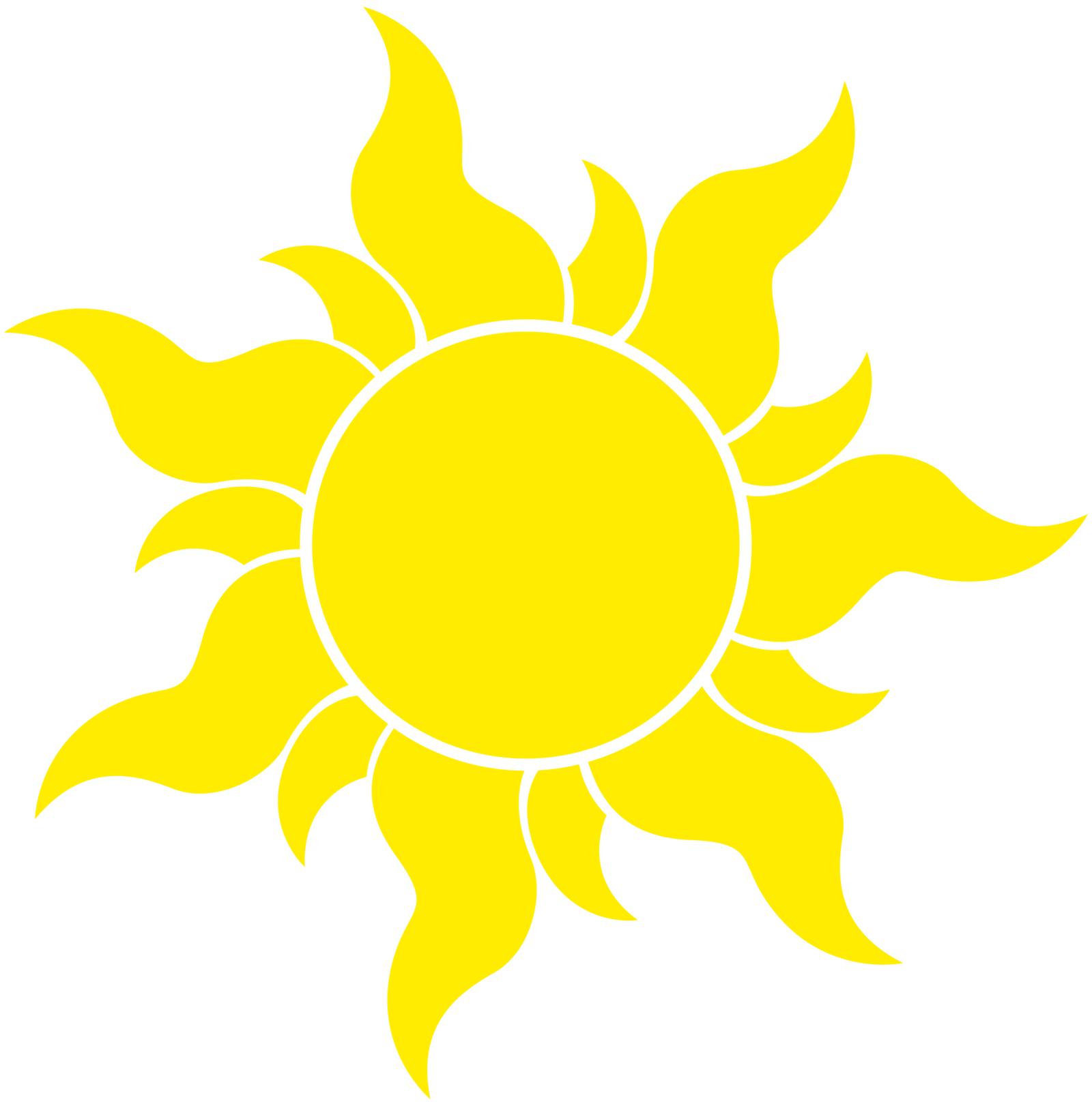 Free Icons Png: Vector Icon Sun
