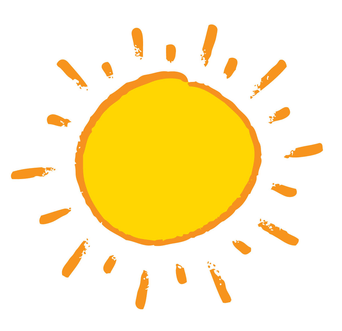 Sun Vector Png image #36027
