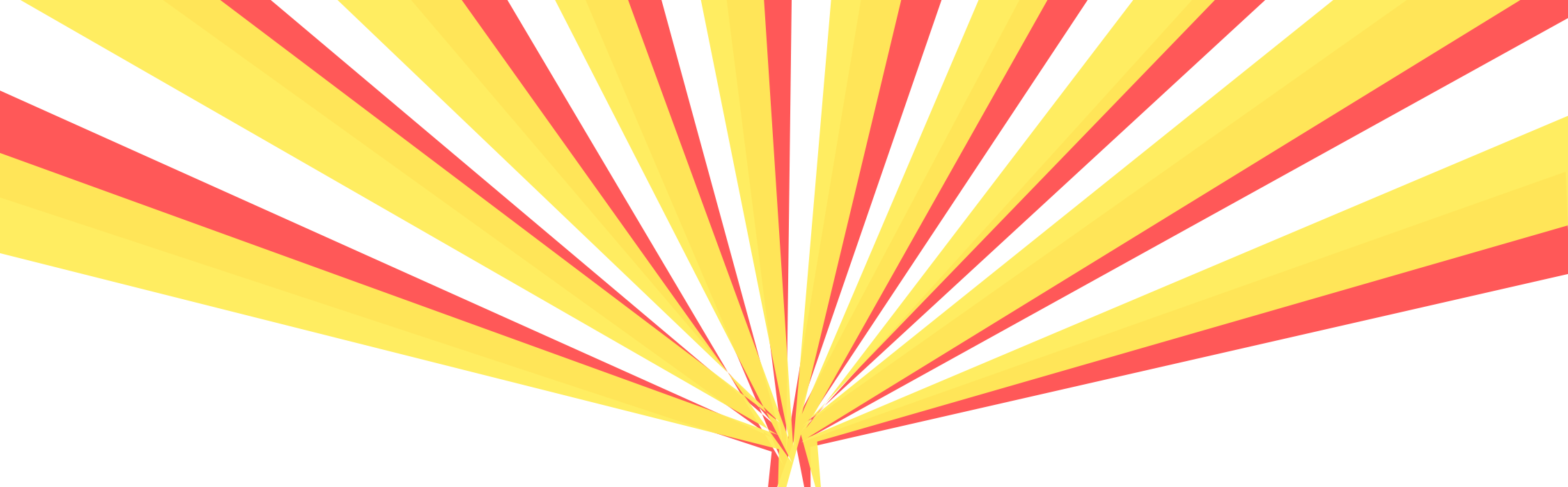 Sun Rays Background Transparent